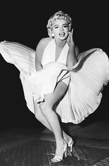 Fotomural The Legend, Marilyn Monroe