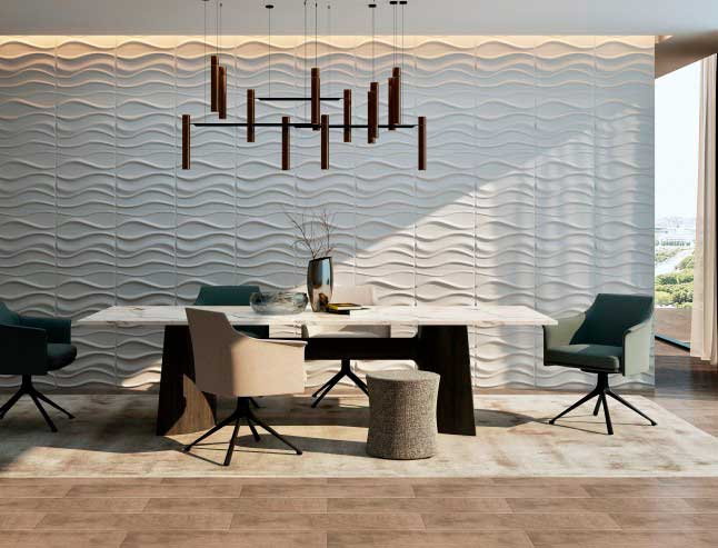 Lake, Panel decorativo 3D fibra de bambú en Monterrey