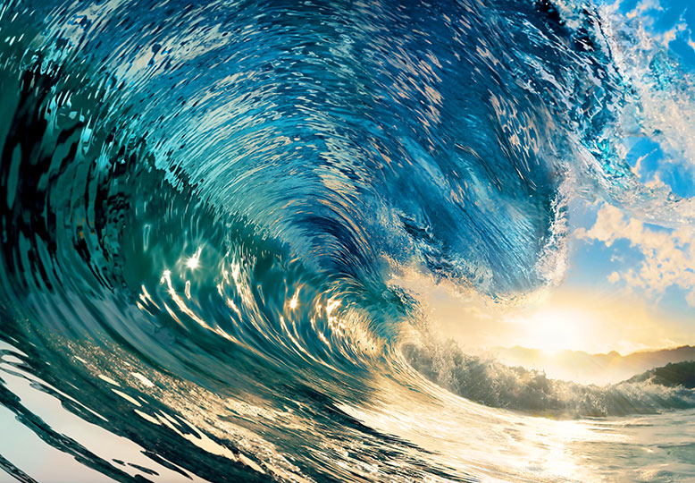 Fotomural Perfect Wave